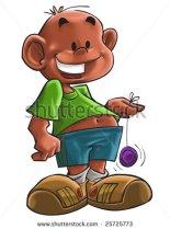 stock-photo-the-young-boy-with-a-colored-yo-yo-25725773